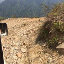 Photo: Carreteras para acceder a los pueblos afectados.