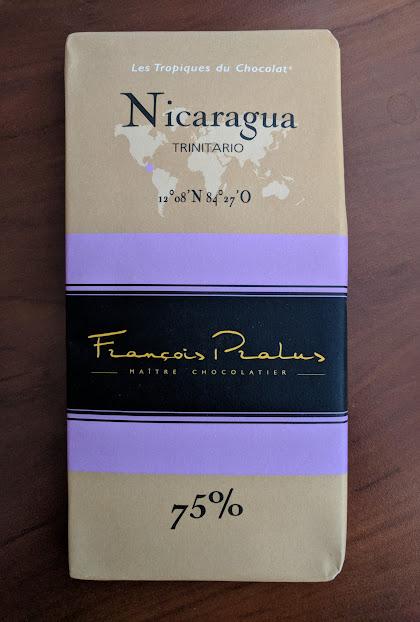 75% pralus nicaragua bar