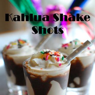 Kahlua Shake Shots.