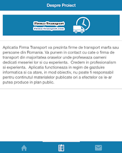Firma de Transport- screenshot thumbnail
