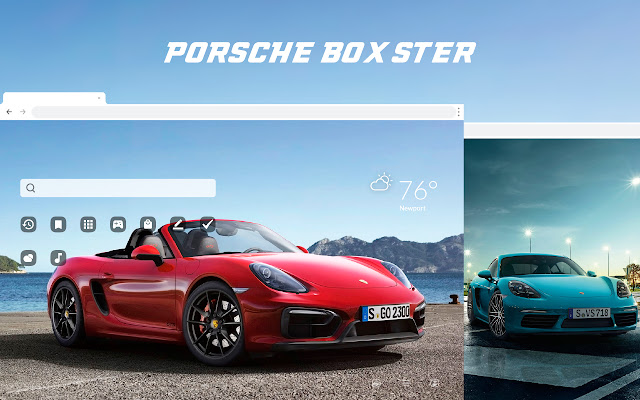 Porsche Boxster HD Wallpapers New Tab