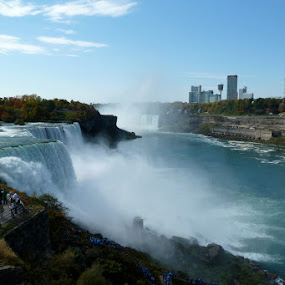 Niagara Falls by Jason Kiefer - Landscapes Waterscapes ( water, running water, creek, river )