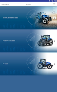 New Holland Ag. T6 range App screenshot 7