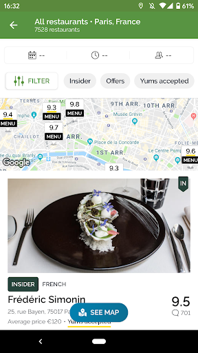 TheFork - Restaurants booking and special offers screenshots 2