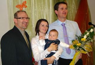 Photo: 2011. április 10-én tartottuk Weller Noel gyermekbemutatását.