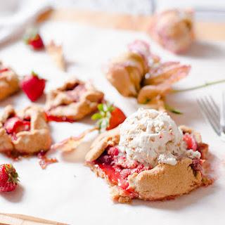 Mini Strawberry Galette.