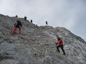 Photo: Ya casi en la cima