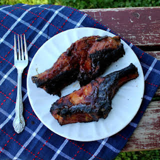 Smokey Honey BBQ Pork Ribs.