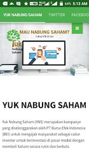Yuk Nabung Saham - náhled