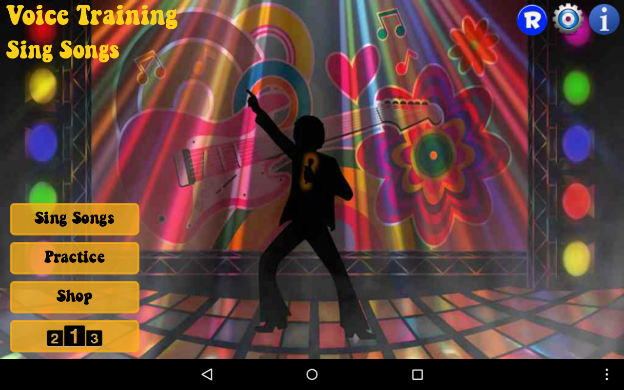 Voice Training - Sing Songs- screenshot