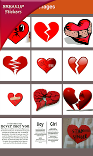 Breakup Sad Stickers Screenshot