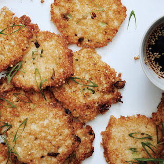 Millet-Scallion Pancakes