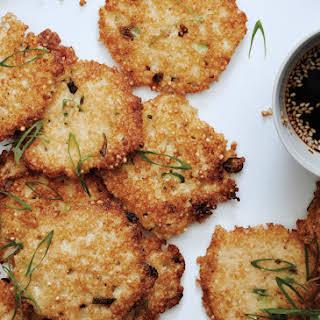 Millet-Scallion Pancakes.