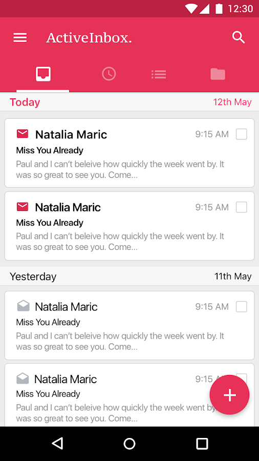 ActiveInbox: Succeed in Gmail™- screenshot