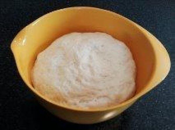 Prepare dough and let rise as per instructions. (This dough is very easy to...