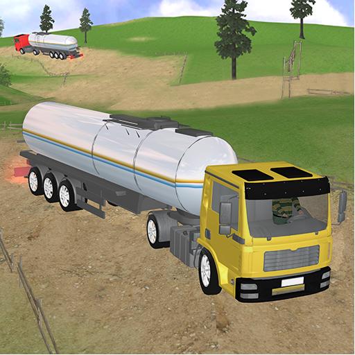 Oil Tanker Transport Truck Game (game)