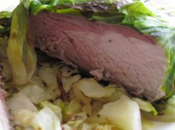 Grandma's Cabbage-wrapped Pork Roast Recipe