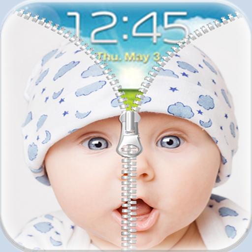 工具App|可爱的宝宝邮编屏幕锁定 LOGO-3C達人阿輝的APP