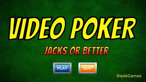 Video Poker - Jacks or Better 2 screenshots 1