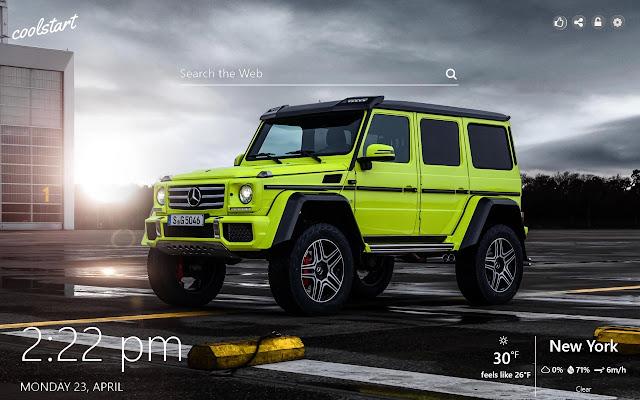 G-Wagon HD Wallpapers Mercedes-Benz Theme