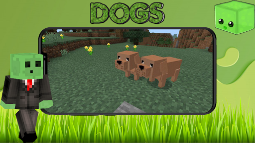 Mod The Dogs for MCPE  captures d'écran 1