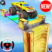 Monster Truck Ramp Stunts Racing - Mega Ramp Drive