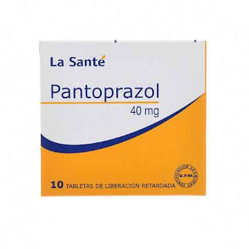 Pantoprazol La Sante   40mg x 10 tabletas recubiertas L.P.