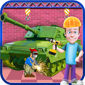 Tank Builder Factory Simulator – Build & Design