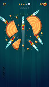 Knife Hit MOD APK 1.8.10 [Unlimited Money + Unlocked] 3