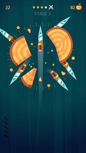 Knife Hit 1.8.9 MOD APK (Unlimited Money) 3