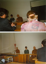 Photo: Translating Ajahn Sumedho's Dhamma talk at Charles university