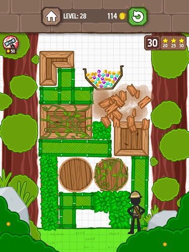 Catch the Treasure - Remove blocks 1.3.7 screenshots 14