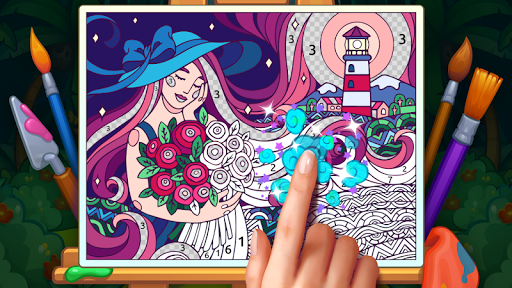 Color Stories: coloring casino & paint art gallery  screenshots 5