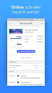 Rechnung schreiben mit Debitoor Screenshot
