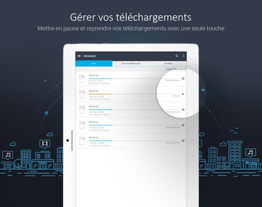 MediaGet - torrent client screenshot 9