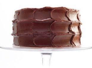 Chocolate-caramel Cake With Sea Salt
