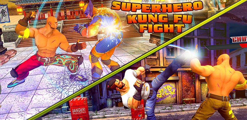 Real Superhero Kung Fu Fight Champion