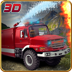 Hill Climb Fire Truck Rescue for PC and MAC