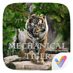 Mechanical Tiger 3d V Launcher Theme V1 0 Android Apk Free