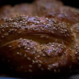 Savoury Challah Bread.