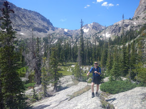 Photo: Almost to Bluebird Lake. Photo by Steph Petri