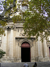 Photo: The Notre Dame des Pommiers (Our Lady of the Apple Trees, literally) church was constructed in the early 18th century, on the site of an earlier, smaller Romanesque one.