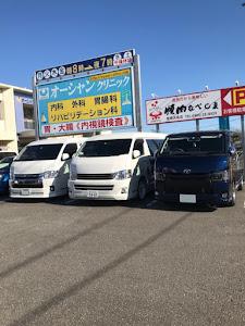 ハイエースワゴン  25年式のカスタム事例画像 takahiroさんの2019年01月03日19:57の投稿