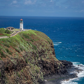 Light house Coast by Dale Fillmore - Landscapes Waterscapes ( waves, lighthouse, ocean, travel, coastal )
