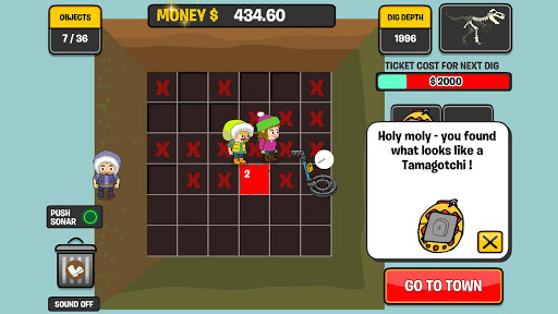 Big Dig Treasure Clickers 1.4.11 screenshots 1