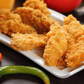 Crispy Faux-Fried Mexican Chicken.