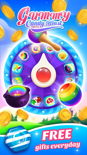 Gummy Candy Blast - Free Match 3 Puzzle Game screenshot 10