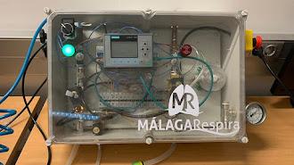 El respirador es un dispositivo que se fabrica en unas dos horas.