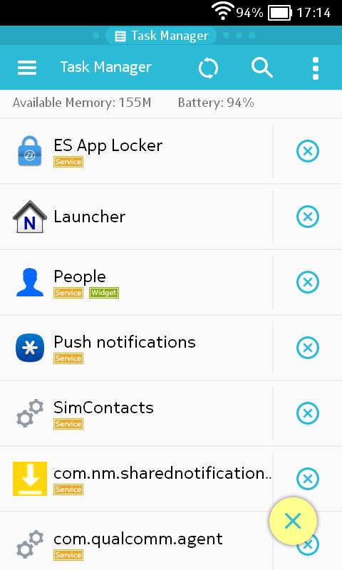 ES Task Manager(Task Killer) - screenshot