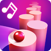 Splashy Tiles: Bouncing to the music tiles
